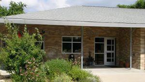 Lab School entrance