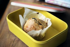 Food in a lunch box